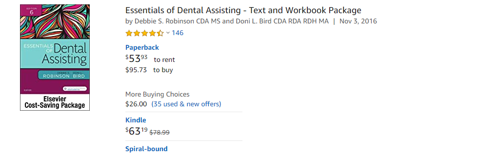 dental books